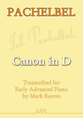 Canon in D by Pachelbel for piano solo - Sheet Music Online