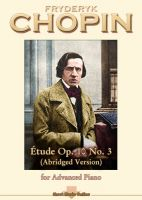 Chopin - Etude Op 10 No 3 (abridged version)
