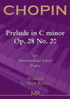 Chopin - Prelude in C minor Op. 28 No. 20 for Intermediate Piano