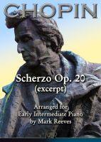 Chopin - Scherzo Op 20 (excerpt) for Early Intermediate Piano