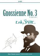 Erik Satie - Gnossienne No 3 for Intermediate Piano