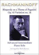 Rachmaninoff - Rhapsody on a Theme of Paganini Op 43 Variation No 18