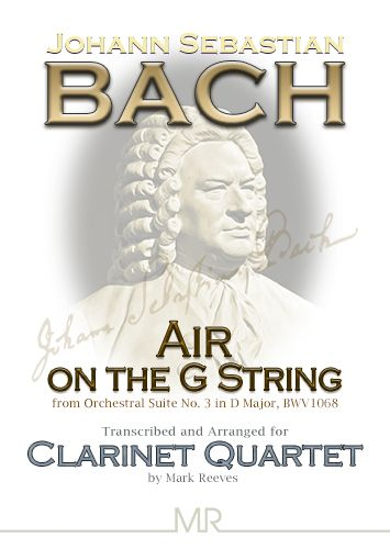 Air on the G String for Clarinet Quartet