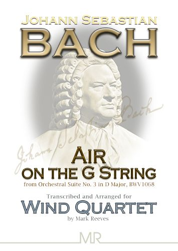 Air on the G string for Wind Quartet